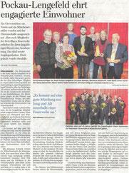 Bild: Wünschendorf Erzgebirge Ehrenpreisverleihung 2019