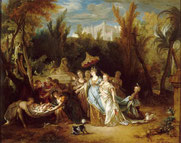 Nicolas de Largillière, Moïse sauvé des eaux / RMN Musée du Louvre