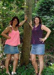Foto von Tanja Helm und Sylvia Musel Geschäftsführerinnen TaSy Werbeagentur