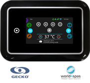 Gecko Bedienfelder, Touchpanele, Topside Controls