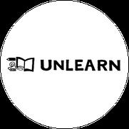 カフェ併設の本屋UNLEARN(アンラーン)ロゴ