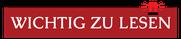 HOZ HUB SYSTEM | Wichtig zu lesen | www.hoz.swiss