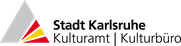 Logo Kulturamt Kulturbüro Stadt Karlsruhe