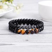bien-être, bracelet, pierre, méditation, zen, bonheur, oeil du tigre, quartz, améthyste, aromathérapie