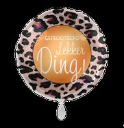 Folieballon Lekker Ding € 4,50 43cm