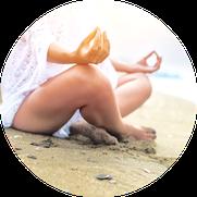 Erholungsurlaub Burnout Yoga