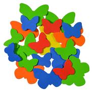 Moosgummiformen selbstklebend Schmetterling