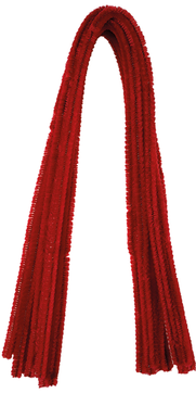 Pfeifenputzer Rot