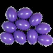 Kunststoffei violett