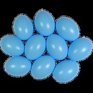 Kunststoffei hellblau
