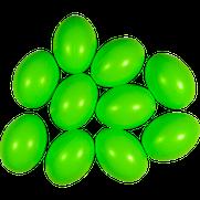 Kunststoffei lindgrün
