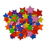 Moosgummiformen selbstklebend Sterne