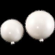 Kunststoffkugeln weiß