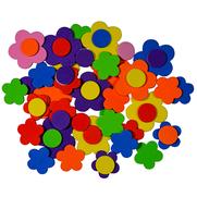 Moosgummiformen selbstklebend Blumen 2