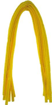 Pfeifenputzer Bananengelb