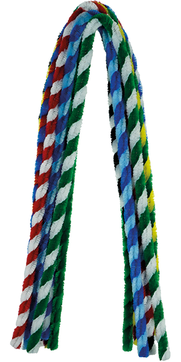 Pfeifenputzer Streifen