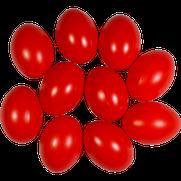 Kunststoffei rot