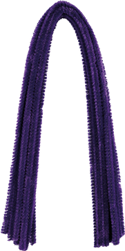 Pfeifenputzer Violett