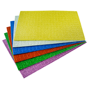 Moosgummiplatte Mosaik glitzer