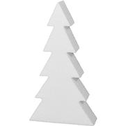 Styropor Konturschnitt Tannenbaum