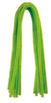 Pfeifenputzer Hellgrün