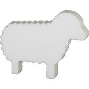 Styropor Konturschnitt Schaf