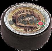 maremma pecora formaggio pecorino caseificio toscano toscana spadi follonica forma intera crosta nera italiano origine latte italia pecorino stagionato nero esterno