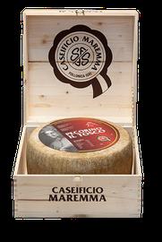 maremma pecora formaggio pecorino caseificio toscano toscana spadi follonica forma intera scatola italiano origine latte italia stagionato grande