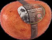 maremma pecora formaggio pecorino caseificio toscano toscana spadi follonica forma intera crosta rossa rosso italiano origine latte italia semistagionato panetto pastore marzolino
