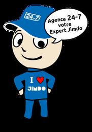 Agence web spécialiste dans l'aide jimdo