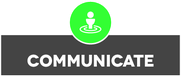 Communicate Verbreiten Dialog