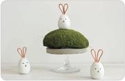 FIMOair basic niedliche Eier-Häschen
