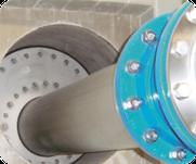 Abdichtung mit Ringraumdichtung in einer Wasserkammer als exzentrische Ausführung
