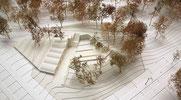 Wettbewerb Hochschulgebiet Zentrum Zürich Pavillon im Park Squadrat Architekten Andreas Kohne Espazium