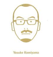 小見山先生の名刺裏の似顔絵、似てます!