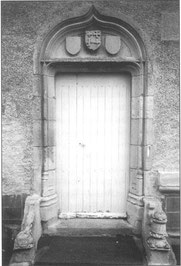 Portail de la commanderie hospitalière de saint Georges les Baillargeaux