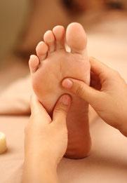 Fussmassage, Reflexzonenmassage, Energiezonen, Massage, Energiezonenmassage