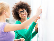 Exemple management visuel entreprise avec la méthode obeya agile.