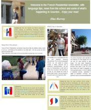 French language holidays