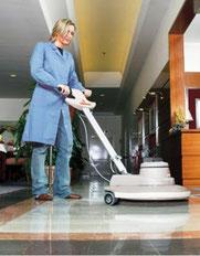 Reinigung Dienstleistung Hotelbereich.