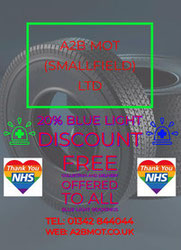 NHS mot tyres services smallfield crawley Horley Redhill Reigate