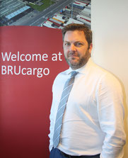 Steven Polmans, Head of Brussels Airport Cargo  -  photo: hs