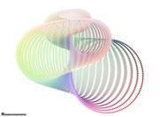 Un coquillage (surface de Jeener 1) en mouvement par J.F Colonna