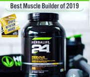 H24 Rebuild Strength - Bester Muskelbildner 2019 von Men's Fitness.