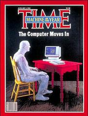 Page de couverture de la revue Time