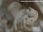Саграда Фамилия в Барселоне - часовня Розария и бомба Орсини