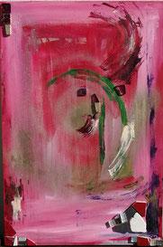 VIE 19, peinture à l'huile sur bois, et mosaïques