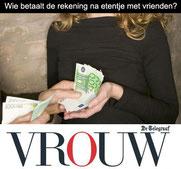 Gonnie Klein Rouweler Etiquette-expert VROUW.nl Telegraaf, De rekening betalen, hoe hoort het?