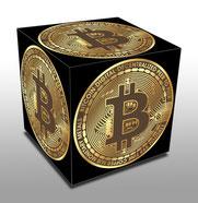 Bitcoin Block digitales Gold
