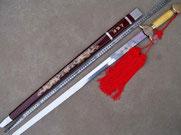 оружие ушу прямой меч цзян